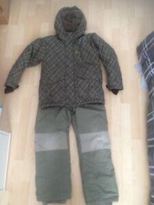 Habit hiver chlorophylle 12 ans 2 pièces manteau pantalon