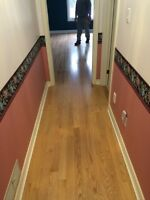 Trim carpenter and flooring installer
