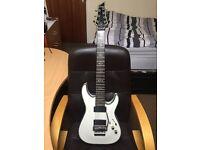 Schecter Hellraiser C7-FR 7-string guitar W/ Hardcase