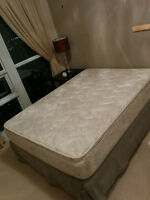 Double/full size mattress and box included