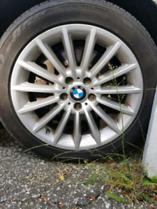 Bmw summer tires with rims