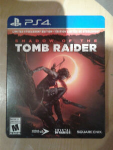 Tomb Raider: Shadow Of The Tomb Raider Ps4