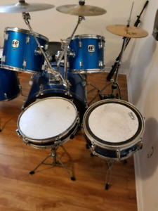 Batterie drum kit Westbury + Tama + Yamaha