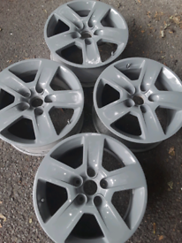 "16"" VW, Audi, Octavia, Passat, Altea alloy wheels in silver grey (132)"