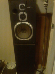 House stereo and 4 large speakers