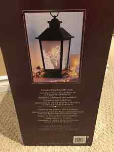 Decorative Holiday Lantern with LED Candle Kitchener / Waterloo Kitchener Area image 2