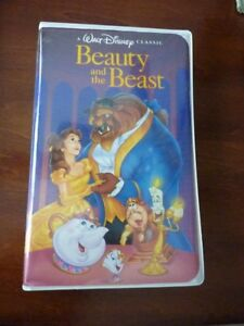 Disneys Beauty and The Beast VHS