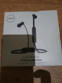 Jays A-Six Wireless Headphones