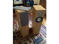 Eltax Liberty 5+ floor standing stereo loudspeakers
