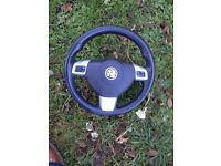 Astra h Sri 2007 leather steering wheel good condition 07594145438