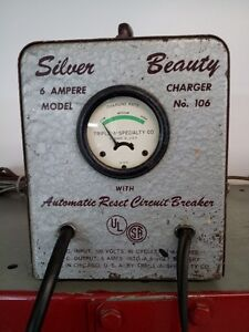 CHARGEUR DE BATTERIE ANTIQUE