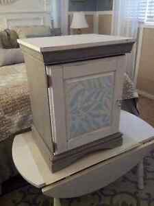 Adorable Shabby Chic Night Stand/Side Table