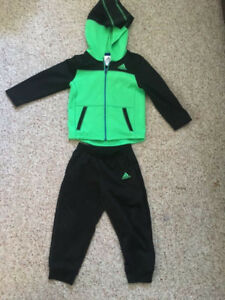 24month Adidas jacket with pants .