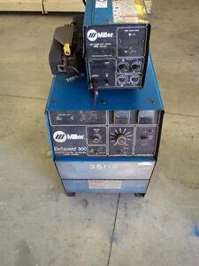 Miller Delta 300 industrial welder