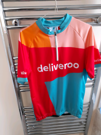 Deliveroo various cycling clothes uniform & mobile phone holder