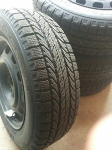 BF Goodrich Winter Tires on Rims & Winter Rubber Mats
