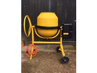 ALKO Top 1402 HR electric cement mixer
