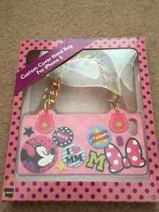 Minnie mouse custom cover hand bag for iphone 5