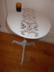 Pretty Little Tilt Top Table-Delivery Included