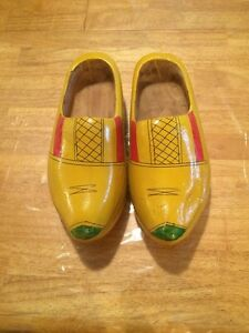 Antique Wooden Shoes