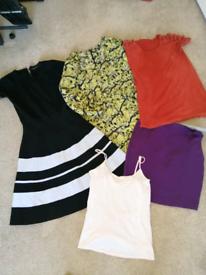 Size 8 Clothes Bundle (28 Items - Various Designers)