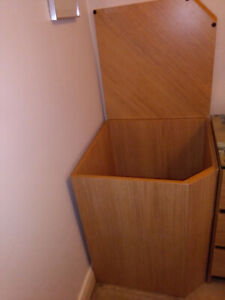 Cool Corner Chest/Cabinet - Top Opening Minimalist MCM Look