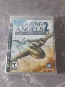 "PS 3 game ""Blazing angels 2"""
