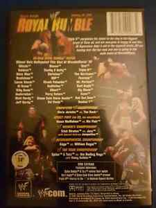 WWF Royal Rumble 2002 DVD  (RARE) London Ontario image 2