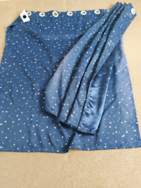 Blue Star Blackout Curtains
