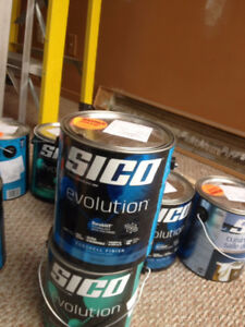 Peinture Sico Evolution a moitie prix $25. ch.