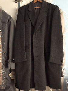 Top Coat - Wool/Cashmere - Like New