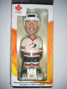 2 Collectible Hockey Bobble heads