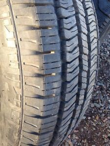 Continental  TR 245/65r17 truck tire over 12/32 tread left
