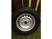 Ford transit tyre and wheel