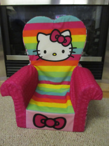 Hello Kitty Toddler Chair