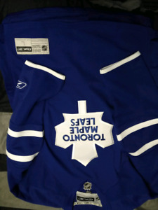 Authentic toronto maple leaf jersey