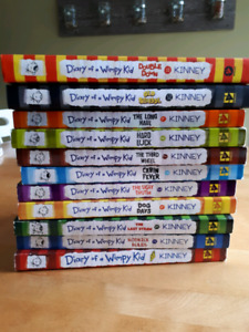 Diary of a Wimpy Kid #1-11