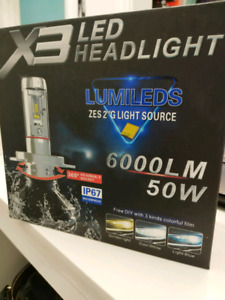 LED Headlight Taurus Edge Sierra IS250 LS460 GS350 S60