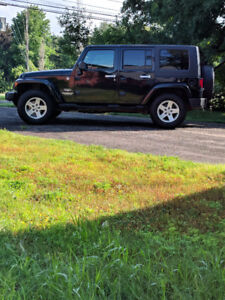 2007 Jeep Wrangler Sahara Unlimited 4dr REDUCED for quick sale