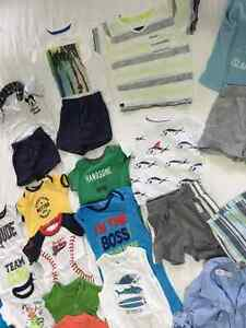 37pieces used BOYS SUMMER CLOTHES 18MONTHS EXCELLENT CONDITION Kitchener / Waterloo Kitchener Area image 4