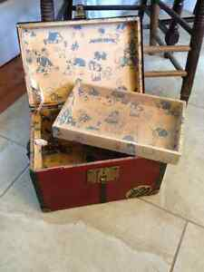 Antique doll clothes and trunk London Ontario image 3