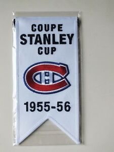 CENTENNIAL STANLEY CUP 1955-56 BANNER MONTREAL CANADIENS HABS Gatineau Ottawa / Gatineau Area image 1