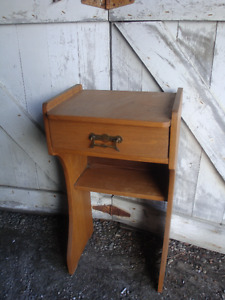 Wood Multi Purpose Stand / Plus Other Items