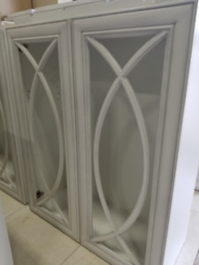 DIY Fall Sale- Painted and Thermofoil (MDF) Cabinets for Sale