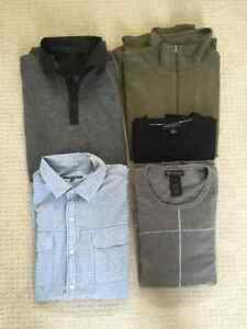 Men's Dress Shirts/Sweaters (5 in total)