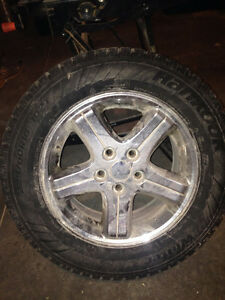 Snow Tires with rims Stratford Kitchener Area image 1