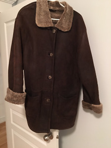 Women's Sheepskin Jacket and Matching Hat
