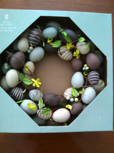 President's Choice Spring/Easter wreath - brand new in box