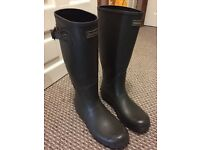 Barbour Wellies Mens Size 9