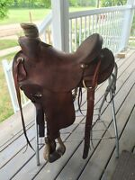 "15.5"" ranch saddle for sale"